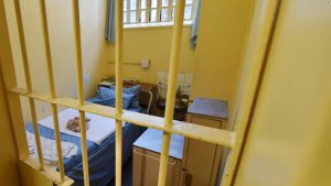 Oscar Pistorius single-cell room