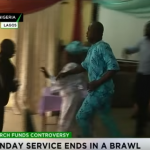 Wild Drama As Members Throw Out Their Pastor During Church Service In Lagos
