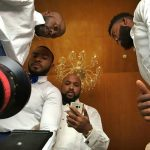 Banky W, Ikechukwu, Enyinna Nwigwe Others At The Premiere Of 20th Century Fox's Movie