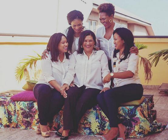 Femi Kuti's Wife, Mother And Sisters Stun In New Photos