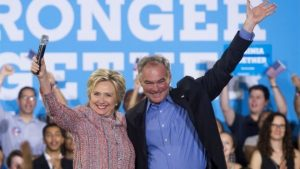 Hillary Clinton Selects Tim Kaine As Her Running Mate