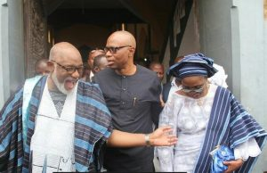 PHOTOS: Mimiko At The 60th Birthday Of The APC Guber Aspirant Rotimi Akeredolu