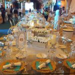 PHOTO: Venue Of Folorunso Alakija's 65th Birthday Party Decorated With Gold
