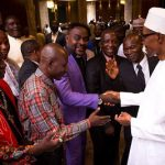 Photos: President Buhari Hosts Northern Christian Leaders At The State House