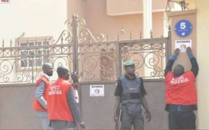 EFCC in Diezani house