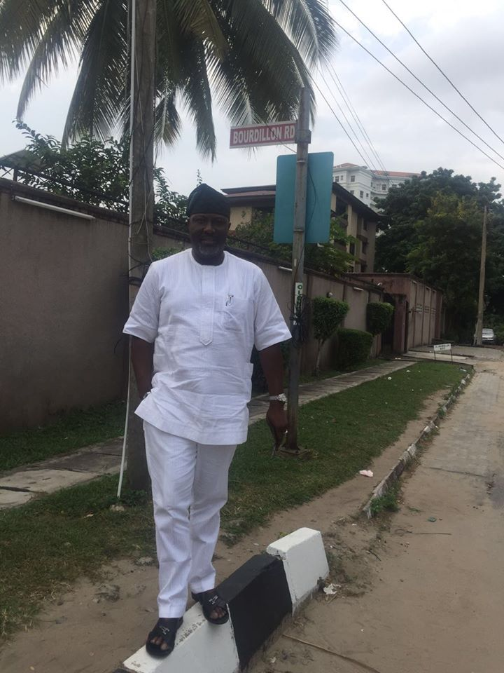 Dino Melaye Dares 'Haters' As He Lands Lagos After Fallout With Tinubu's Wife