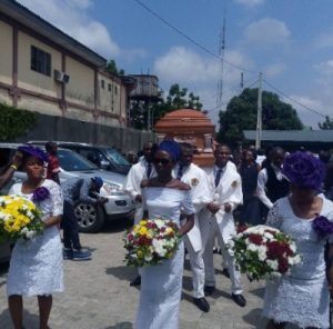 Photos From OJB Jezreel's Funeral