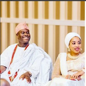 Ooni Of Ile-ife And Wife, Wuraola Look Stunning In New Photos