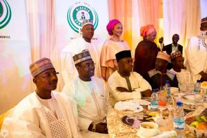 Buhari's Children Hosted To A Grand Party In Aso Rock After Graduation