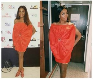 Oops! See What Seyi Shay Wore To An Event