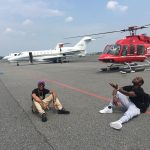 Davido Pictured Balling Hard With Usher