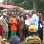 Ekiti Workers Embarrass And Mock Fayose While Addressing Them