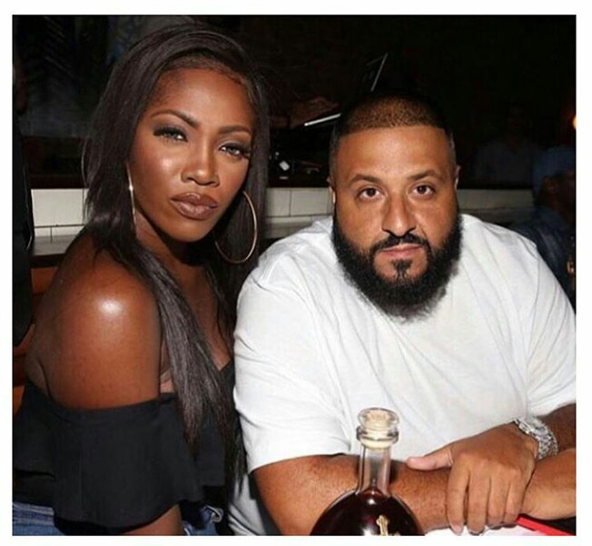 Tiwa Savage Pictured With DJ Khaled, Jidenna & Lupita