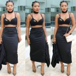 Linda Ikeji's Sister, Laura In The Buzz Again For Attending Event In Br@