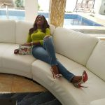 Throwback Photo Of Linda Ikeji Catching Fun In A Toilet