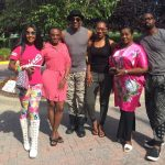 Ini Edo, Mama G, Ebube Nwagbo,Tracy & Treasure Daniels In Maryland For 'Ladies First' Movie