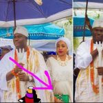 Olori, Wife to Ooni Of Ife Spotted With A Baby Bump