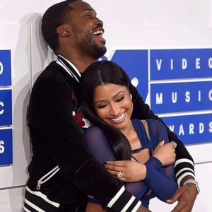 Meek Mill Shines Bright With Nicki Again At The VMAs [PHOTOS]
