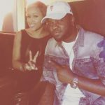 Skales Pictured With American Rapper, Eve