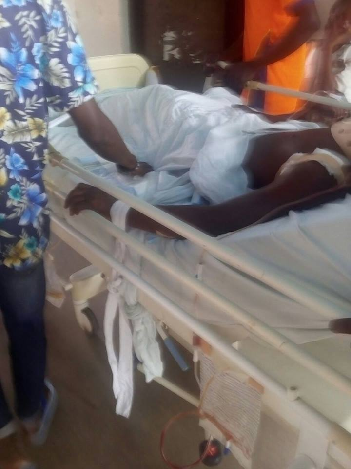 Taiwo is reportedly responding to treatments