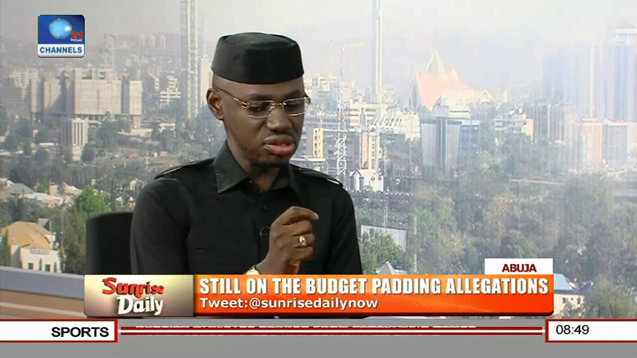 Timi Frank on Channels TV