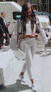 Tiwa Savage Looking Gorgeous As She Steps Out In All-White