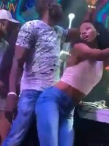 Usain dances with girl at 30th birthday at the club