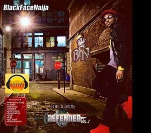 Blackface - Defender album (front cover)