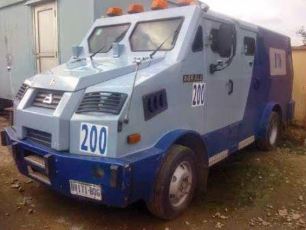 Armed Robbers Attack CBN Bullion Van Killing Two Policemen Jos-Abuja Road