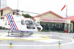 Lagos State Launches First Medical Helicopter Emergency Service In Nigeria [PHOTOS]