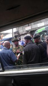 Soldiers And KAI Officials Clash In Ojuelegba, Lagos