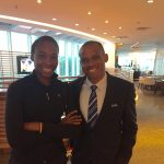 Sunday Oliseh And Tennis Star, Venus Williams All Smiles As They Meet In Brazil