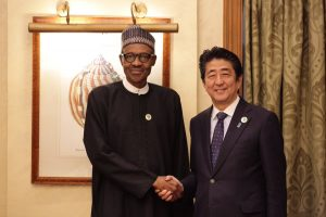 PHOTOS: Buhari Holds Meeting With Japan's Prime Minister, Abe Shinzo