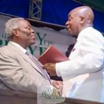 Oyedepo & Kumuyi Meet At Abuja Stadium To Pray For Nigeria