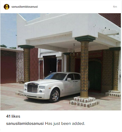Emir Of Kano, Lamido Sanusi Acquires Rolls Royce