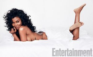 Oops! Taraji P. Henson Poses With Bare Chest!