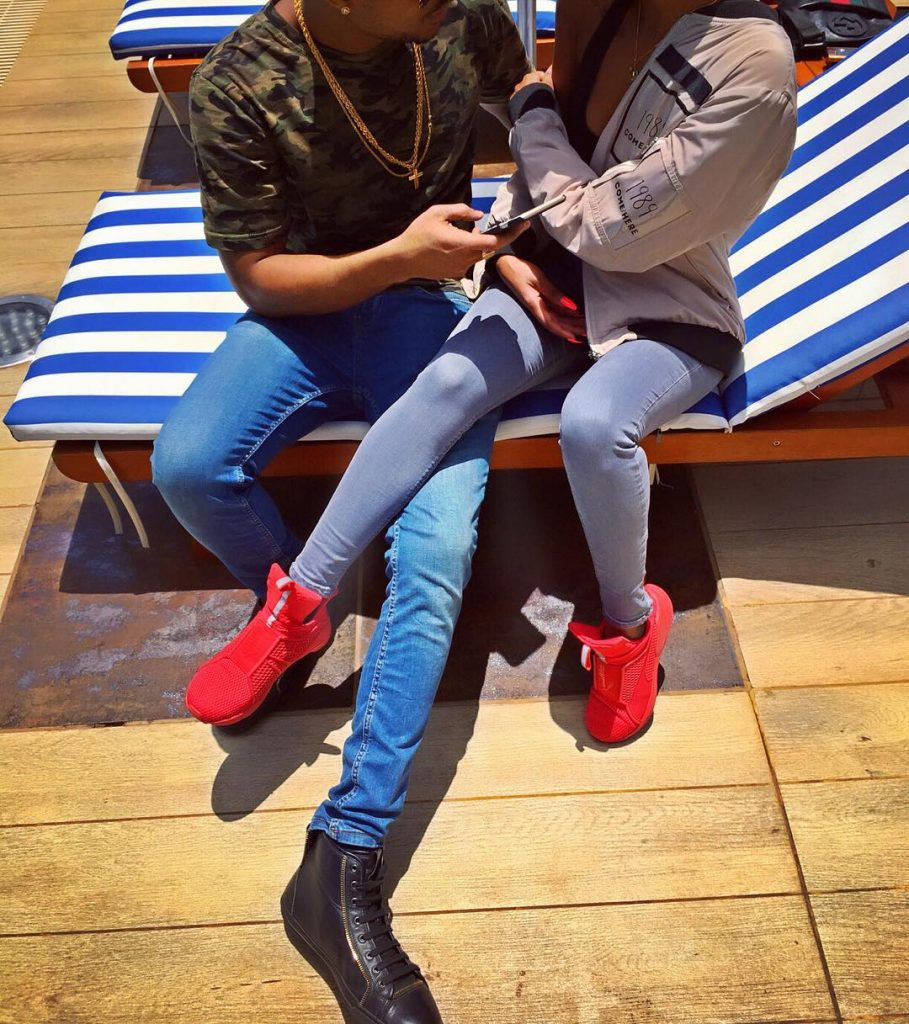 Former BBA Star, Huddah Monroe Finds Love In A Mystery Guy