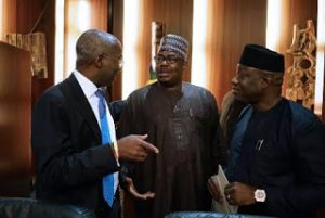 Buhari Meets With His Cabinet Members For Federal Executive Meeting