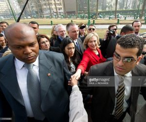 Meet Oladotun Okunola; He Is Hillary Clinton's Personal Doctor