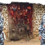 Pastor Got Stuck In Shrine While Trying To Destroy Idols