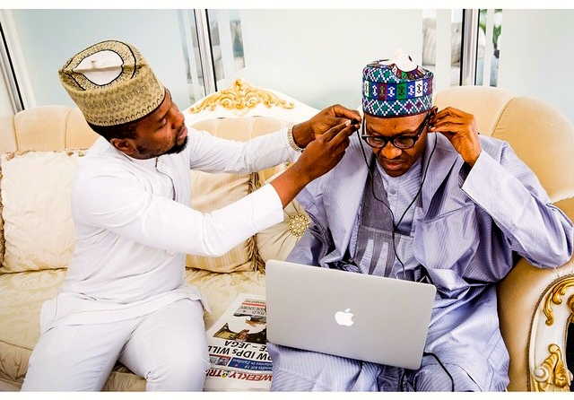 Buhari ear infection