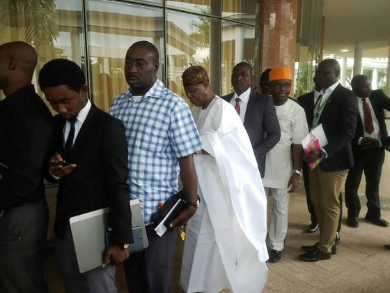Lai Mohammed: Information Minister Pictured In A Queue