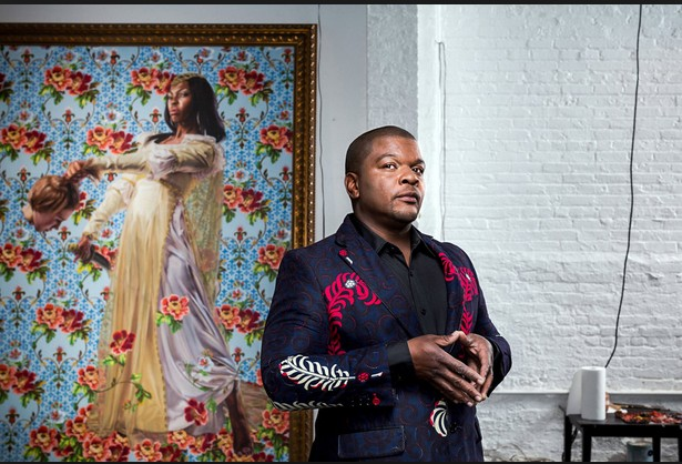 Meet The Nigerian Super Talented Naturalistic Painter Making Waves In The US