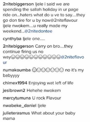 Fans Come For Flavour For Sharing Photos With Bikini-clad Model