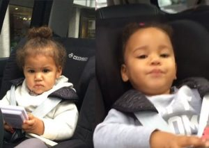 Check Out Mikel Obi's Wife And Twin Daughters As They Go On A Trip