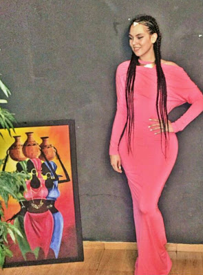 Sonia Ogbonna Puts Her Massive Curves On Display