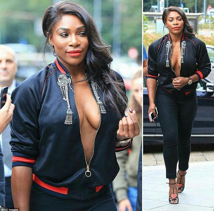 Serena Williams Is Revealing More Than Usual