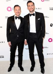 Huh? Gay Couple, Cheyenne Jackson & Jason Landau Welcomes Twins