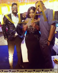 Basketmouth, Noble Igwe, Toolz and Tunde Demuren