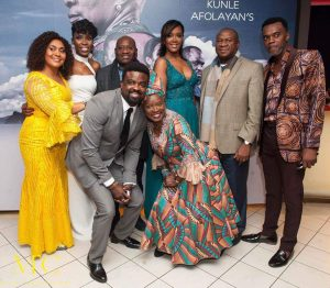 [PHOTOS] Kunle Afolayan Takes 'The CEO' To London